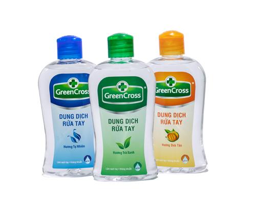 Dung dịch rửa tay Green Cross